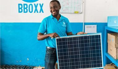 BBOXX makes solar power kits for homes across Africa. ©BBOXX