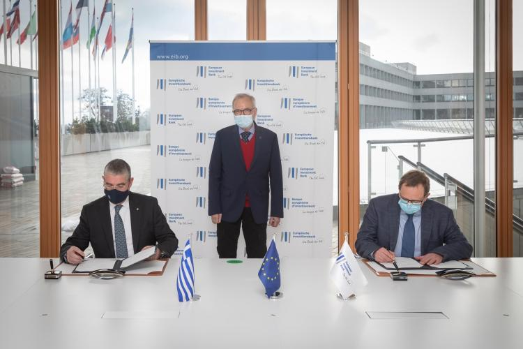 EUR 200m EIB backing for climate, economic and social cohesion projects across Greece