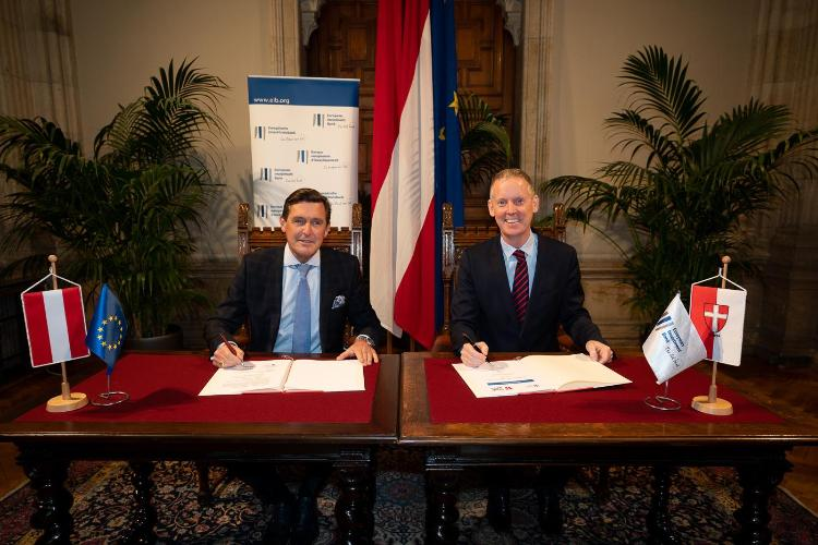 European Green Deal: EIB and City of Vienna sign climate partnership