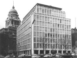 European Investment Bank's first location, Brussels, Belgium