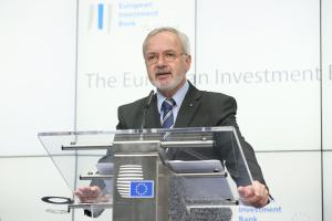 EIB annual news conference in Brussels