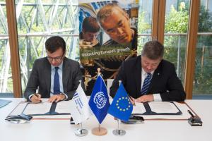 Signature of the MoU International Labour Organization