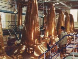 Distilling industry Scotland – 1970s