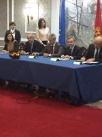 Visit to Montenegro of an official EIB delegation led by Vice-President Dario Scannapieco