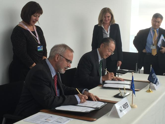 EIB and World Bank join forces with new agreement to support Ukraine