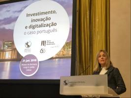 EIB conference in Lisbon: Investment, Innovation and Digitalisation – the Portuguese case